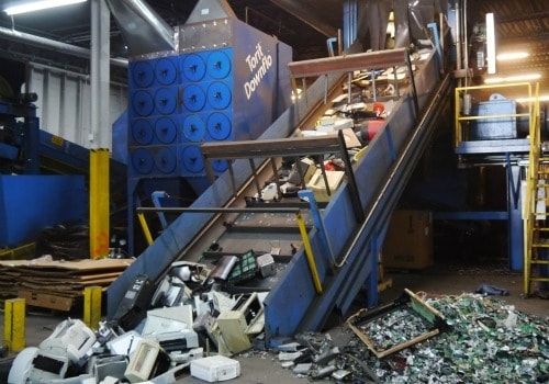 Most Recyclers Don't Process E-Waste This Way